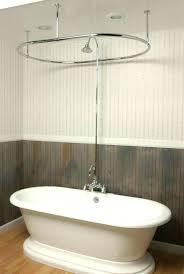 clawfoot bathtub shower full size of shower curtain rail for freestanding bath free standing shower curtain clawfoot bathtub shower