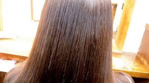 縮毛矯正 髪型 縮毛矯正のロングヘアーでサラサラ 横浜で人気の美容