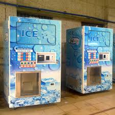 Commercial Ice Vending Machines For Sale Cool Coin Operated Ice Vending MachineChina Ice Vending Kiosk Manufacturer