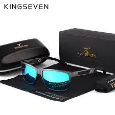 <b>KINGSEVEN</b> Men <b>Polarized Sunglasses</b> Aluminum Magnesium Sun ...