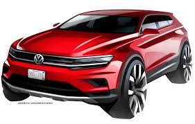2018 volkswagen models. simple models volkswagenu0027s tiguan will morph into a more familyfriendly model in detroit to 2018 volkswagen models