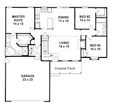 3 bedroom 2 bath house plans. Plain Plans Traditional Style House Plan  3 Beds 200 Baths 1245 SqFt 58 With Bedroom 2 Bath Plans E
