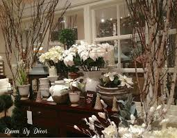Home Design Decoration Highly Regarded Pottery Barn Christmas Ideas With  White Flowers Themes Inspiring Decor Ideas