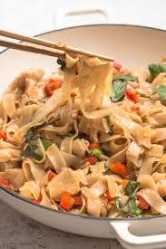 drunken noodles pad kee mao noshtastic