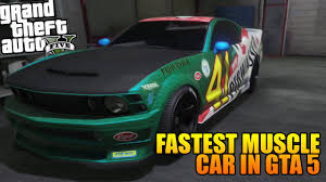 Gta Dominator Tuning Customization Fastest Muscle Car In Gta
