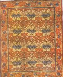 arts and crafts style rugs uk