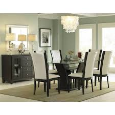 Side Chairs For Bedroom Rectangular Glass Dining Set 5pc Set Table 4 Side Chairs
