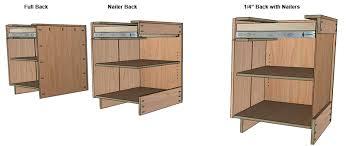free kitchen cabinet plans diy. cabinet back options free kitchen plans diy