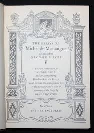 michel de montaigne essays sparknotes killer angels book review  essays by montaigne the essays of montaigne michel de montaigne abebooks