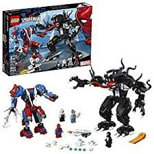 <b>LEGO Super Heroes Marvel</b> Spider Mech Vs. Venom <b>76115</b> Action