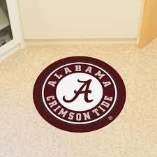 university of alabama crimson tide logo roundel mat 27