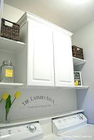 spine wall shelf utility wall shelves small or closet laundry room makeover cabinet and open shelves spine wall shelf