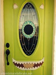 halloween door decorating ideas office. Diy Halloween Decorations Archives Events To Celebrate Mike Wazowski Door Decoration. Home Office Designs. Decorating Ideas A