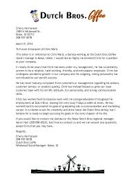 Barista Cover Letter Resume Barista Cover Letter Sample No ...