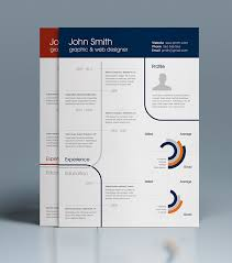 Free Clean One Page Resume On Behance