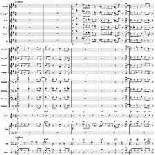 The Preacher Big Band Chart Arrangement