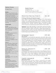 Free It Manager Resume Sample Templates At Allbusinesstemplates Com