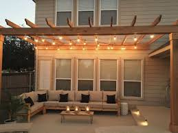 deck lighting ideas. 99 deck decorating ideas pergola lights and cement planters 62 lighting