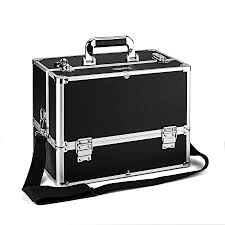 amasava large make up box 6 trays storage beauty box vanity case makeup organiser nail
