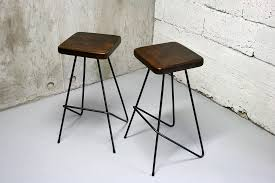 Image of: Industrial Metal Stools
