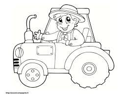 Coloriage Tracteur Dessin C3 A0 Imprimer Gratuit L L L L L L