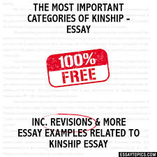 most important categories of kinship essay the most important categories of kinship essay