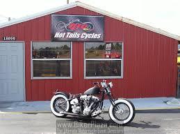 custom built motorcycle old school bobber 2010