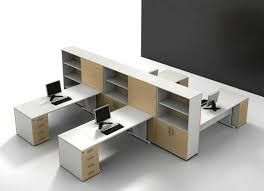 Office:Contemporary Cubicle Office Work Desk Design With Cabinet And  Bookshelf Contemporary Cubicle Office Work