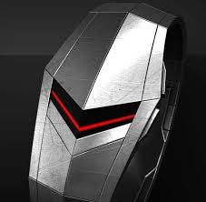 17 best images about watches men s leather clock futuristic chevron timepieces faceless led watch