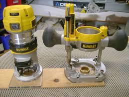 dewalt router. dewalt dwp611pk 1-1/4 hp router kit dewalt