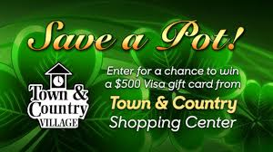 enter for a chance to win a 500 visa gift card from town country village