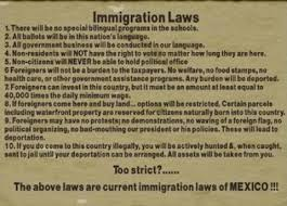 current immigration laws of do you think they d mind if we  current immigration laws of do you think they d mind if we borrowed and adopted this material for our country seems fair to me
