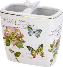 <b>Стакан Avanti Butterfly</b> Garden для зубных щеток - купить в ...