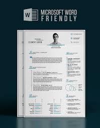 precise blue word resume template design resources precise blue word resume template