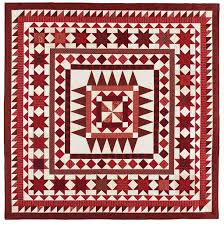 BLOCK Friday: Red and White Quilts - Fons & Porter - The Quilting ... & Bed-Size Quilt Patterns Adamdwight.com