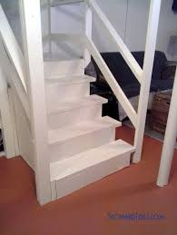 painted basement stairs. Stairs Painting Tip-www.stowandtellu.com Painted Basement