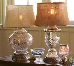 pb serena antique mercury glass table lamps