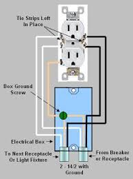 installing & replacing an electrical receptacle part 1 Receptacle Wiring common duplex electrical outlet wiring receptacle wiring diagram
