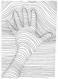 Small Picture Op art illusion optique main Op Art Coloring pages for adults