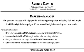 Resume Headers How to Write a Resume Summary that Grabs Attention Blue Sky 83