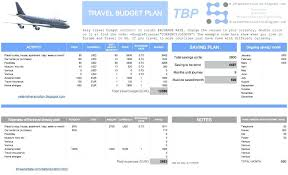 Itinerary Planner Template Excel Travel Planning Spreadsheet ...