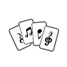 Musical Note Card Free Cliparts Illustac