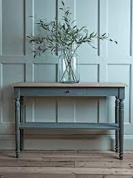 toulon console table dark grey