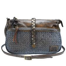 au79 woven leather bag with shoulder strap passa allo zoom hover to zoom