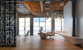 Image Ikimasuyo In San Francisco Desperately Needs New Modern Look For Their Office Clients Of Fun And Where Staff Feel Comfortable Office Furniture Created By The Ofdesign Eclectic Office Equipment Concrete And Wood Dominate The Interior