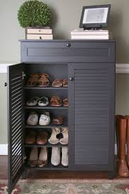 Shelf Cabinet With Doors 20 Shoe Storage Cabinets That Are Both Functional Stylish