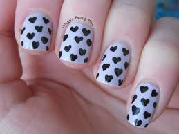 Heart nail art designs - how you can do it at home. Pictures ...