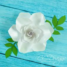 Small Paper Flower Templates Small Gardenia Paper Flower Template Catching Colorflies