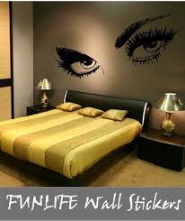 wall stencil wall stickers bedroom
