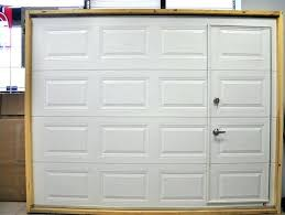 full image for garage doors with pedestrian access built in designsectional door entry side